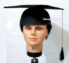 Halloween Graduation Cap Mortar Board Hat Party Costume Cosplay Unisex Headgear