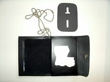 Louisiana State Police Snap Wallet Recessed Badge Cut Out & ID Window  CT-03LGR