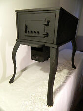 IRON STOVE  DECORATIVE 2 HOLES BLACK
