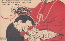 C280) BOLOGNA 1906, SATIRICA, CARDINALE  LAMBERTINI PREMIA TESTONI. ILL. NASICA