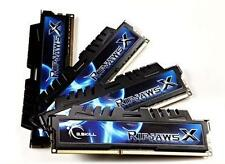 32GB G.Skill DDR3 PC3-17000 2133MHz RipjawsX Series CL9 Quad Channel kit 4x8GB