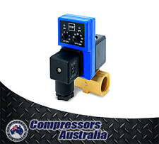 """1/2"""" Air Compressor Auto Drain with Timer - Compressor Parts Fittings Accessory"""