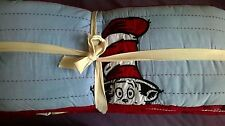 NEW Pottery Barn Kids DR Seuss CAT in the Hat Crib BUMPER