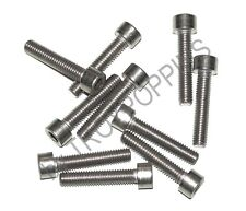 10-SS M6 X 30MM SH SOCKET SMOOTH HEAD STAINLESS STEEL METRIC MACHINE SCREWS 6MM