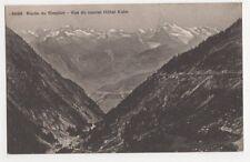 Switzerland, Route du Simplon, Vue du Nouvel Hotel Kulm Postcard, B210