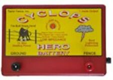 CYCLOPS HERO BATTERY POWERED | 15 ACRE, 12 VOLT ELECTRIC FENCE CHARGER ENERGIZER