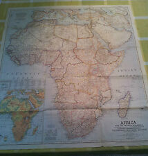 NATIONAL GEOGRAPHIC MAGAZINE AFRICA & ARAB PENINSULA WASHINGTON 1950