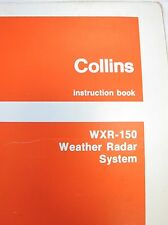 Collins Service Repair Manual Instruction Book WRX-150 Weather Radar System