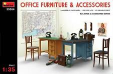 Miniart 1/35 Office Furniture and Accessories # 35564
