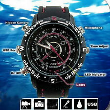 8GB Camcorder Waterproof Watch Camera DVR Video Recorder Cam 1280*960 Photo UR