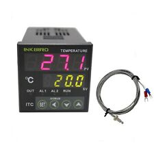 ITC-100RL Digital Pid Temperature Controller thermostat 12v - 24v + k sensor