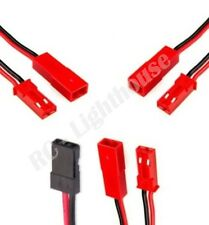 RC Plane Plug Upgrade Package 3 JST 1 JR Plugs Quick Release Harness