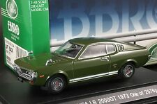 Ebbro 43256 1:43 Toyota Celica 2000 GT Liftback RA25 (1973) Die Cast Model Car