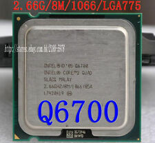 Intel Core 2 Quad Q6700 2.66 GHz Quad-Core Processor Socket 775 CPU