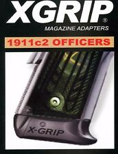 XGrip 1911 Full Size Magazine w/Plate Use in Officer/Compact 45ACP/9mm 1911c2