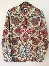 $150 J.CREW Liberty Art Fabrics Perfect Shirt In Assorted Florals Style 95856 4