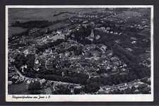 100713 AK Jever Luftbild Fliegeraufnahme um 1935 gelaufen Feldpost 1940