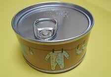 1 boite de conserve garçon enfant bébé a remplir