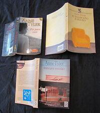 Lotto 3 libri Anne Tyler Ristorante nostalgia Per puro caso Il tuo posto é vuoto