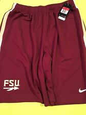 NWT NIKE Florida State Seminole Football NCAA College Epic Shorts 657727