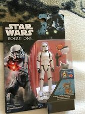 Star Wars   rogue one Darth vader and  stormtrooper 3.75 inch  figure sets