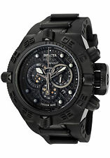 Invicta 6582 Mens Subaqua Noma IV Combat Swiss Chronograph Black Strap Watch