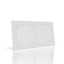 "AC Infinity Ventilation Grill 12"", PC Electronic AV Cabinets, mounts 120mm Fans"