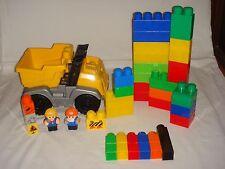 "Mega Bloks My First Builders ""Dump Truck"" Construction Playset - Toddler Blocks"