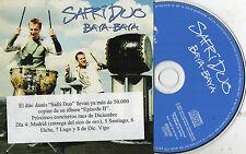 SAFRI DUO - Baya-Baya, CD SINGLE PROMO SPAIN 2004 CARDBOARD