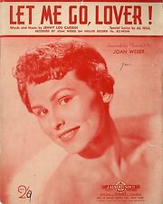 JOAN WEBBER - LET ME GO LOVER! - SHEET MUSIC - AUSTRALIA