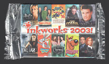 PROMO CARD PACKET (SEALED): Inkworks 2003 SAN DIEGO COMIC CON 7 Cards + HEADER