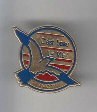 RARE PINS PIN'S .. BEAUTE PARFUM PERFUME OISEAU BIRD AVON FRANCE ~A9