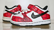 SAMPLE Nike Air DUNK Spiderman Jordan Vintage RARE Sz 5c Gr 21 infant PARIS XI I