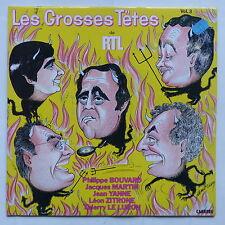 Les grooses tetes Vol 3 BOUVARD MARTIN JEAN YANNE ZITRONNE LE LURON 67.912