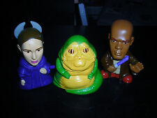 LOT OF THREE STAR WARS BURGER KING TOY CAKE TOPPERS