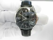 TAG HEUER CARRERA TWIN-TIME GMT AUTOMATIC WRISTWATCH WV2115