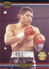 """VIRGIL """"Quicksilver"""" HILL - Boxing Trading Card - 1991 Ringlords"""