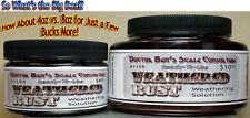 Weathered Rust Weathering Solution-Doctor Ben's READY-TO-USE 8oz hfc01