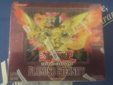 Yu-Gi-Oh Flaming Eternity Booster Box Unlimited English New Factory Sealed!
