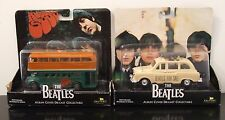 FACTORY ENTERTAINMENT BEATLES ALBUM COVER DIECAST FOR SALE RUBBER SOUL BUS & CAR