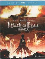 Attack on Titan Part I: Episode 1-13 Standard Ed (Blu-ray/DVD, 2014, 4-Disc Set)