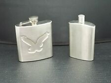 LOT OF 2 FLASKS NOOKART DAVIDE ANDREOLI  STAINLESS STEEL