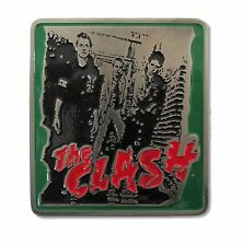 THE CLASH! DEBUT ALBUM BAND IMAGE METAL BELT BUCKLE NEW OFFICIAL