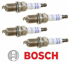 Set Of 4 VW AUDI 2.0L Turbo Genuine BOSCH SPARK PLUGS 2.0T Platinum / Iridium
