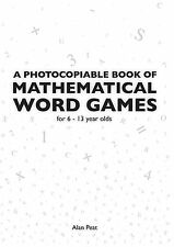 A Photocopiable Book of Mathematical Word Games by Alan Peat