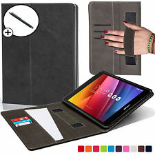 Forefront Cases® Leather Black Strap Smart Case Cover for ASUS Zenpad Z8 Stylus