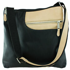 Saint Sabrina Maven Messenger Security Handbag - Black