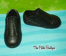 MONSTER HIGH STUDENT DISEMBODY COUNCIL SLO MO BOY DOLL REPLACEMENT BLACK SHOES