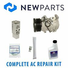 Toyota Tundra 2007-2013 V8 Complete A/C Repair Kit With NEW Compressor & Clutch