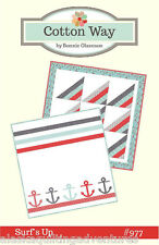Quilt Pattern ~ SURF'S UP ~ by Cotton Way